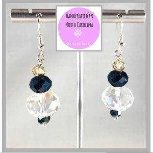 Frontrow.Style Jewelry - Sterling Silver Earrings Iridescence Austrian Glam
